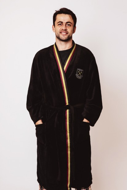 WEST HAM 125-MENS DRESSING GOWN