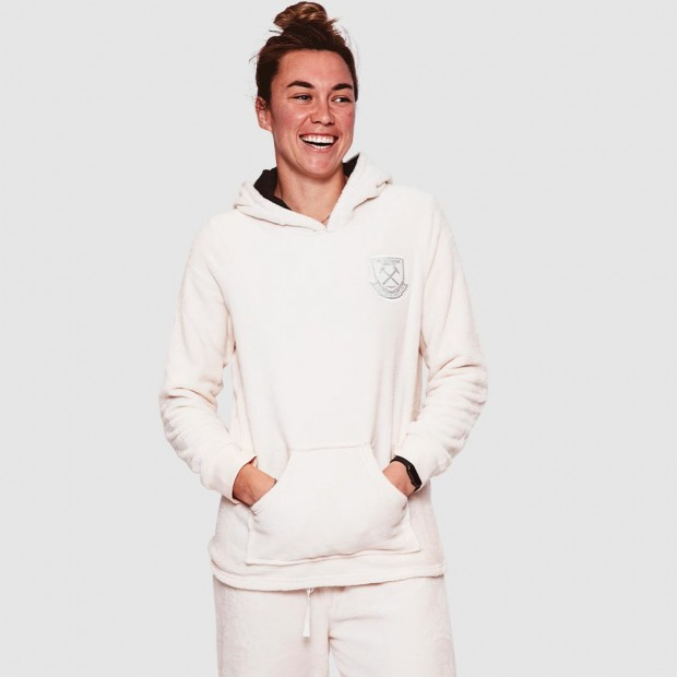 WEST HAM 125-WOMENS FLUFFY LOUNGE SET
