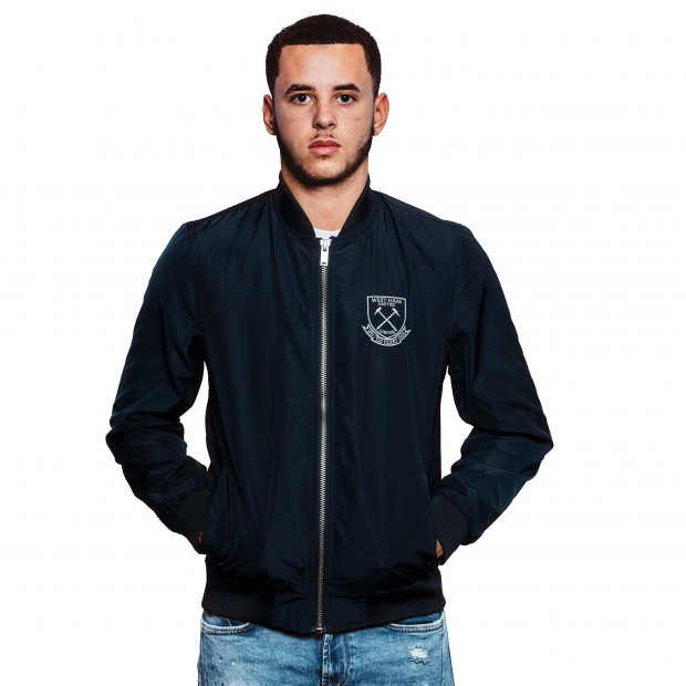 WEST HAM 125-NAVY BOMBER JACKET