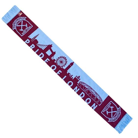 WEST HAM 125-PRIDE OF LONDON SCARF