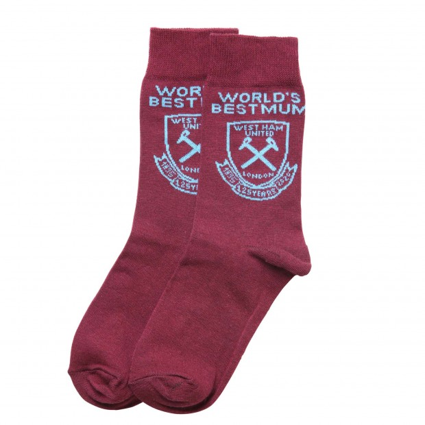 WEST HAM 125-WORLDS BEST MUM SOCKS
