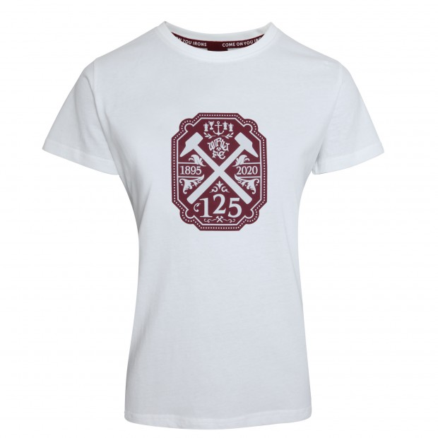 2425 WMNS - WHITE 125 STAMP T-SHIRT