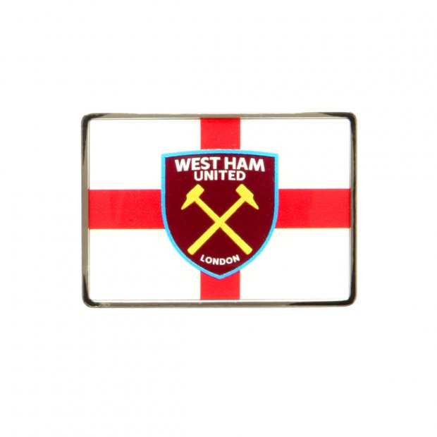 ENGLAND FLAG/CREST PIN BADGE
