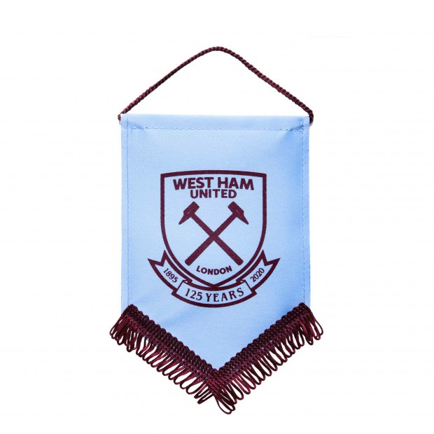 WEST HAM 125-SMALL SKY PENNANT