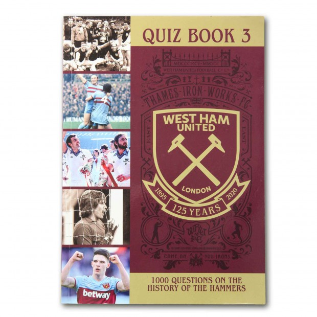 WEST HAM 125-HISTORY QUIZ BOOK