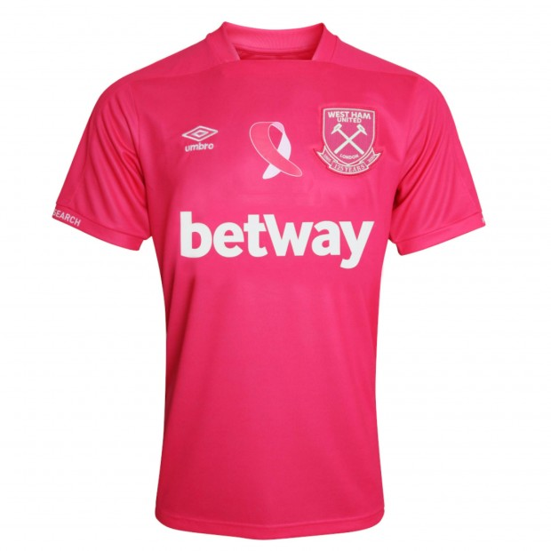WHU X BREAST CANCER NOW 20/21 ADULT SHIRT