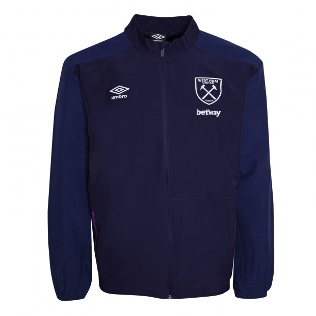 WEST HAM ADULTS WOVEN JACKET