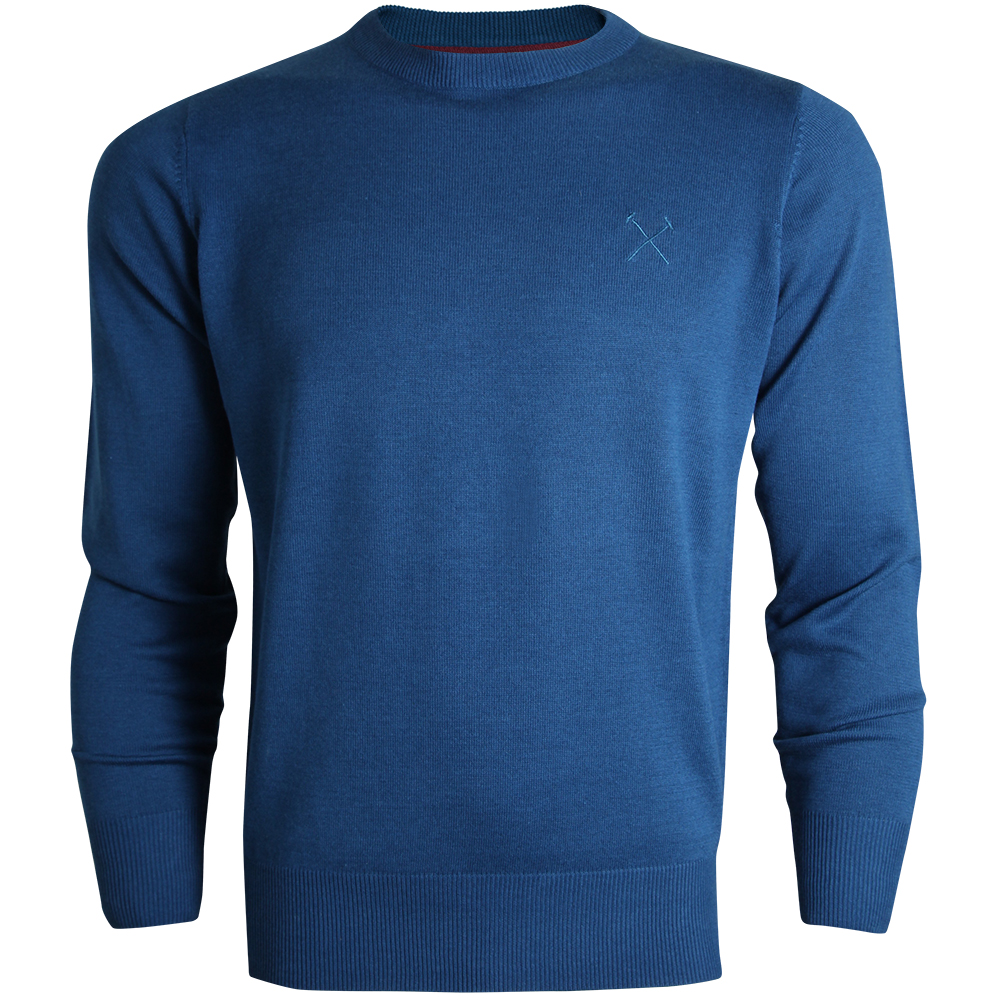 BLUE HAMMERS JUMPER