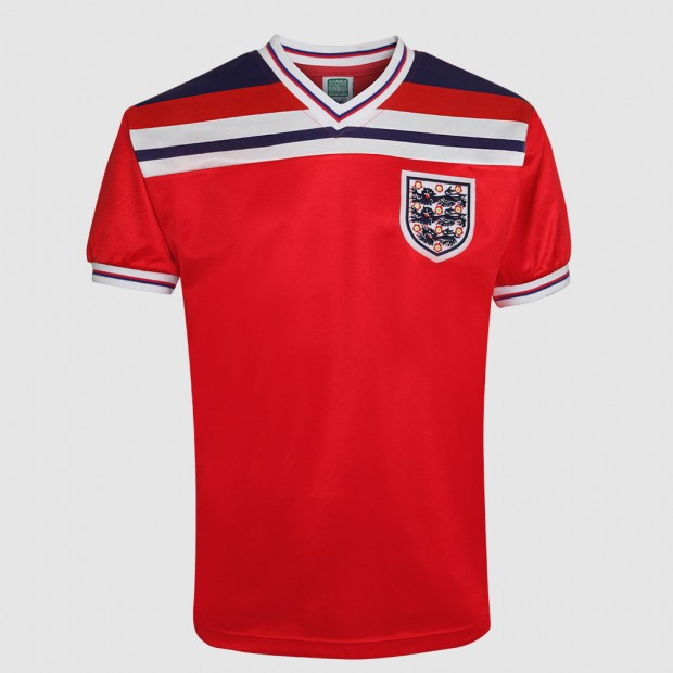 ENGLAND AWAY 1982 BROOKING SHIRT
