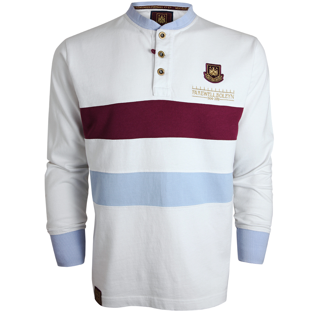 FAREWELL BOLEYN - ADULT WHITE GRANDAD TOP