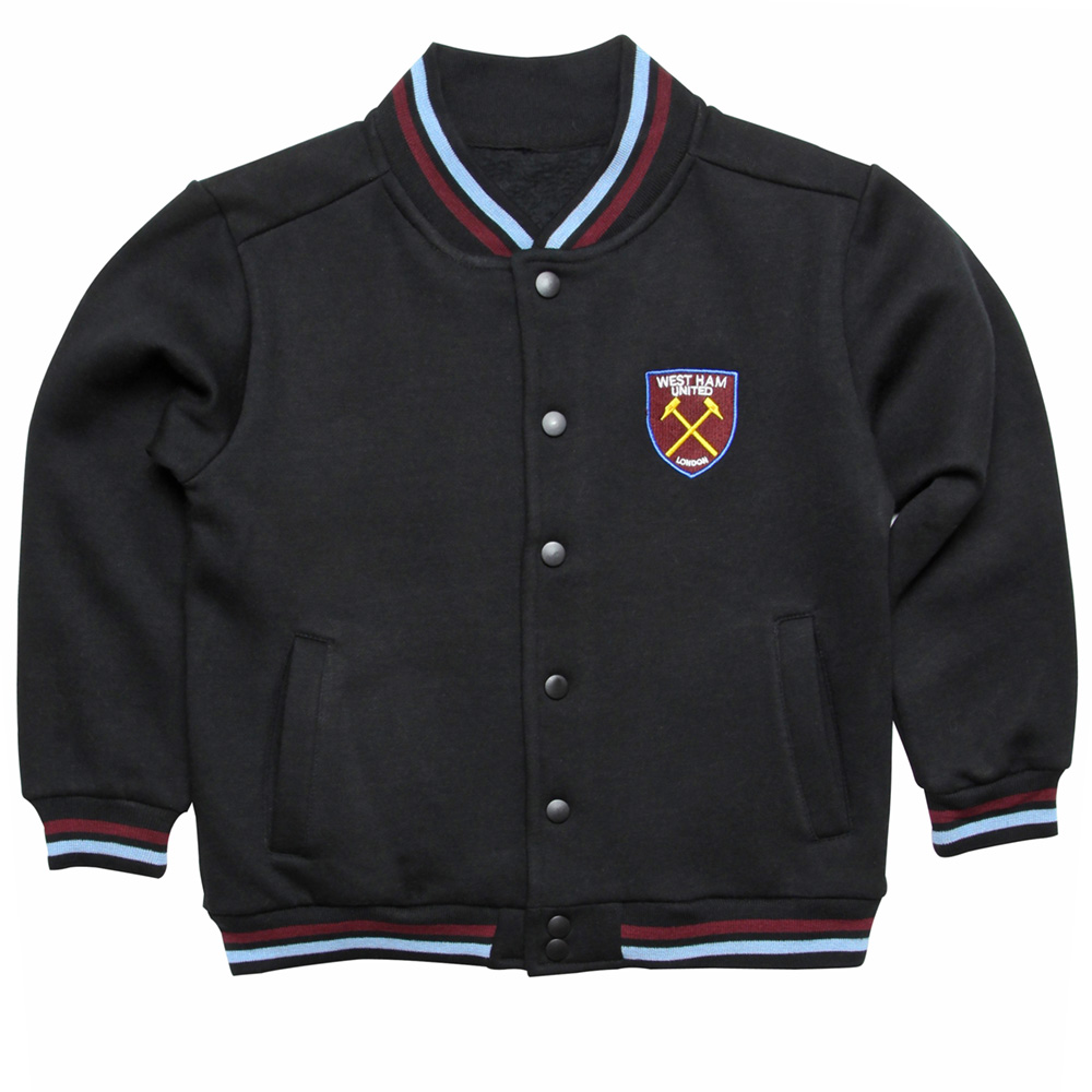 BLACK COLLEGE JACKET