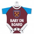 BABY ON BOARD HANGER