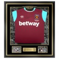 FRAMED 16/17 BYRAM SIGNED HOME SHIRT