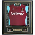 FRAMED 16/17 CRESSWELL SIGNED HOME SHIRT
