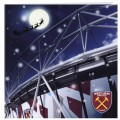 LONDON STADIUM CHRISTMAS CARD