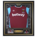 FRAMED 16/17 PAYET SIGNED HOME SHIRT