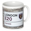 YOUR NAME STREET SIGN MUG