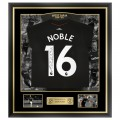 FRAMED 17/18 NOBLE BACK SIGNED AWAY SHIRT
