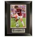 18/19 FRAMED ANDERSON HOME SIGNED PRINT