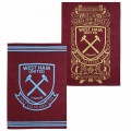 WEST HAM 125-PK 2 TEA TOWELS