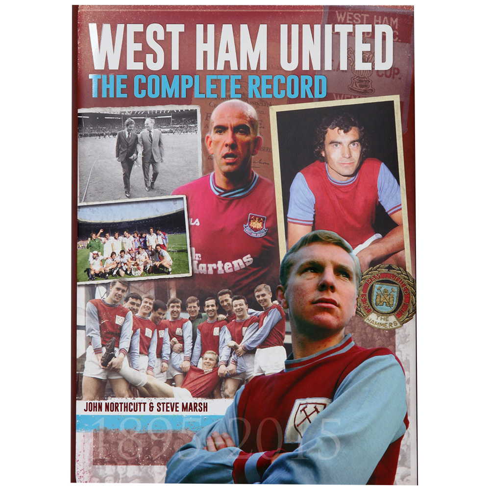 WEST HAM-THE COMPLETE RECORD BOOK
