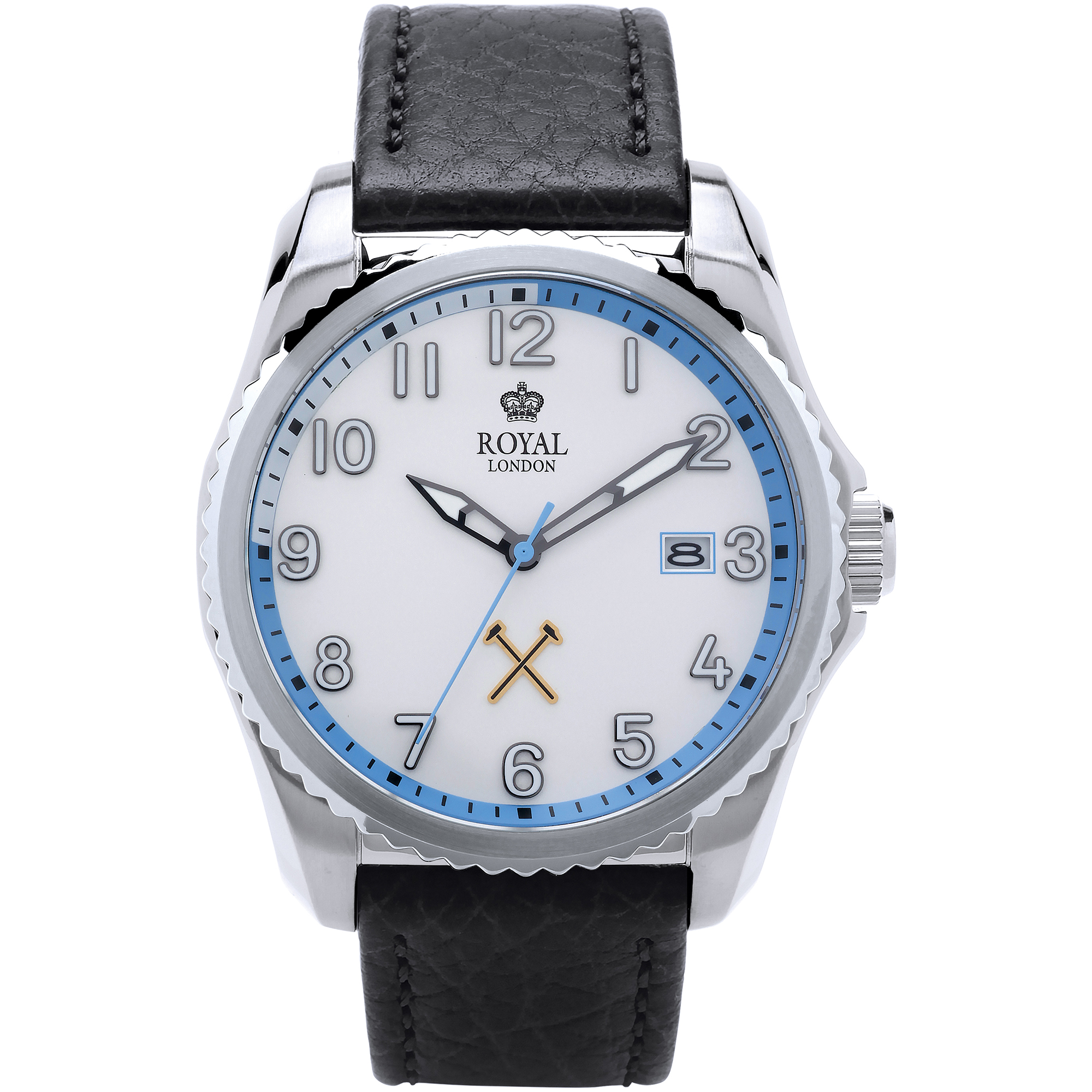 ROYAL LONDON 1 SS DATE SPORT WATCH