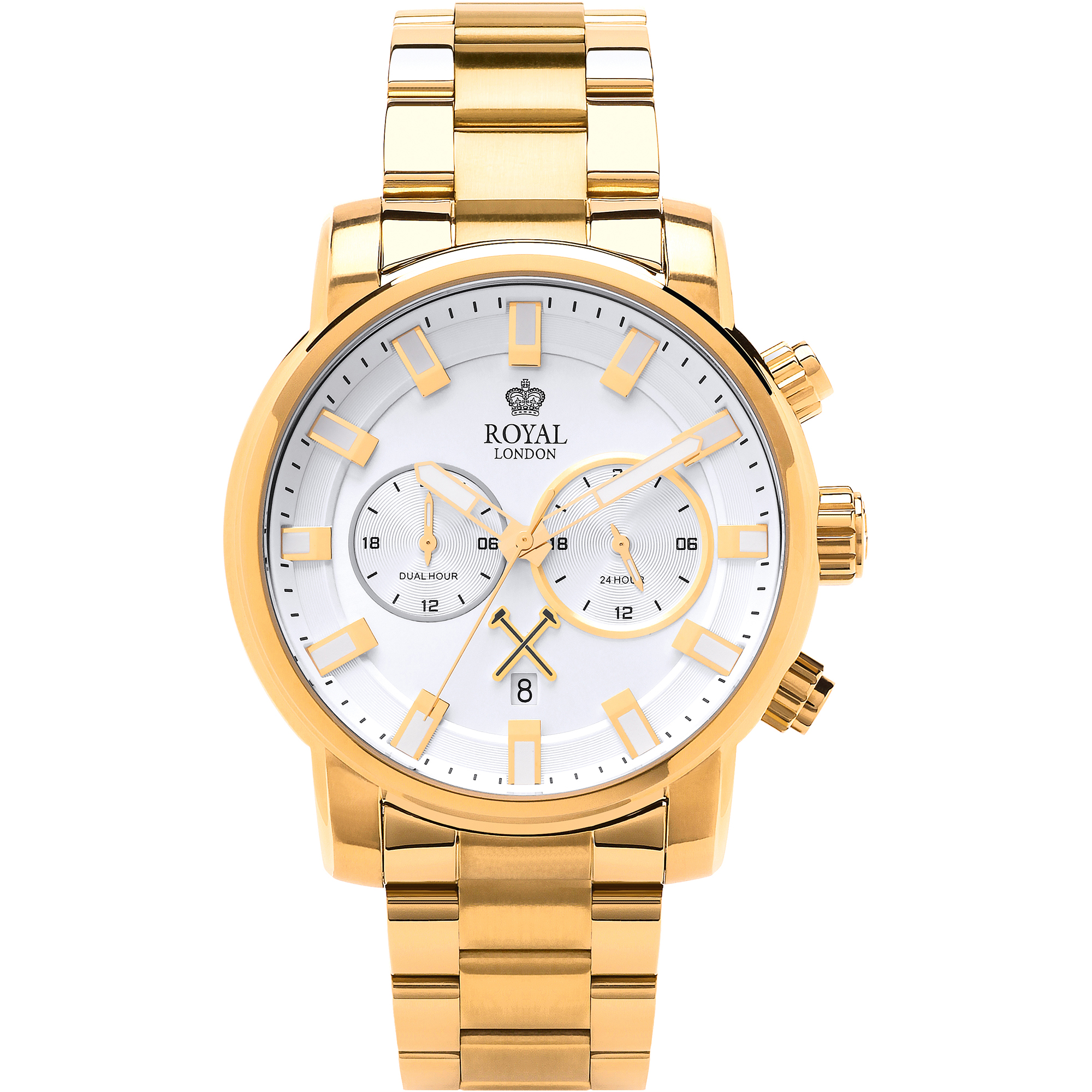 ROYAL LONDON 10 SS GOLD PLATED WATCH