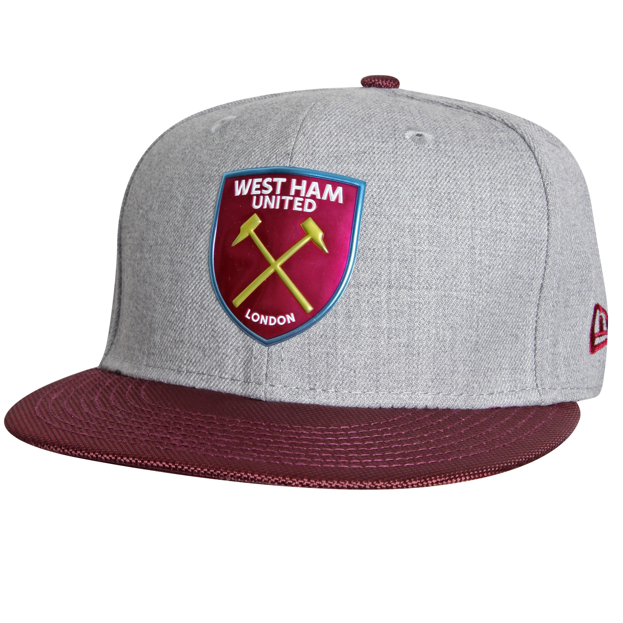 GREY/CLARET 59FIFTY FITTED CAP