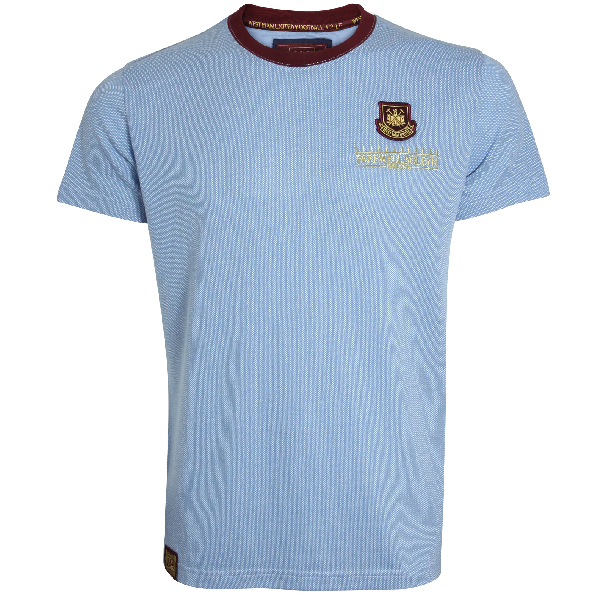 FAREWELL BOLEYN - ADULT SKY TEXTURED T-SHIRT