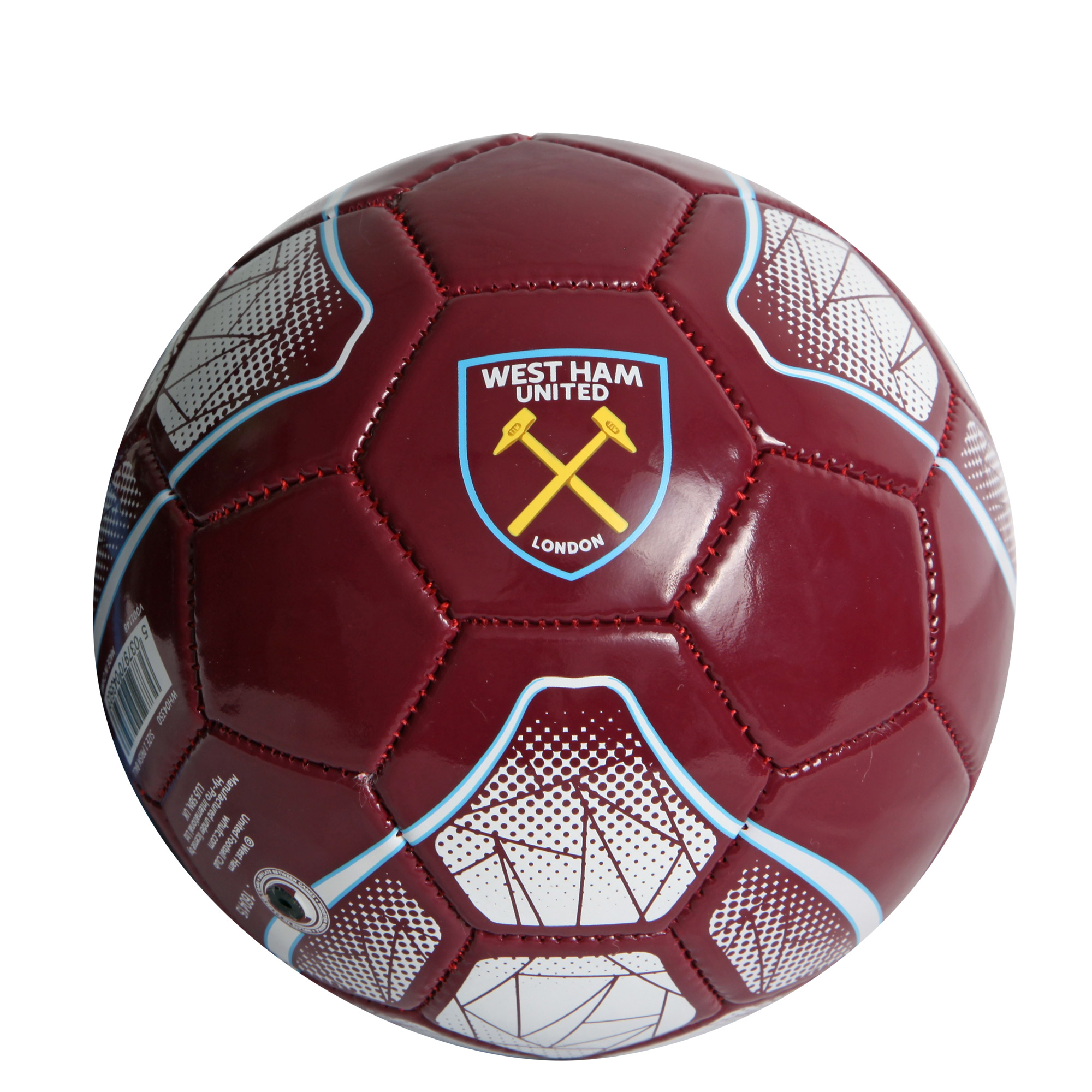 CLARET SIZE 1 FOOTBALL