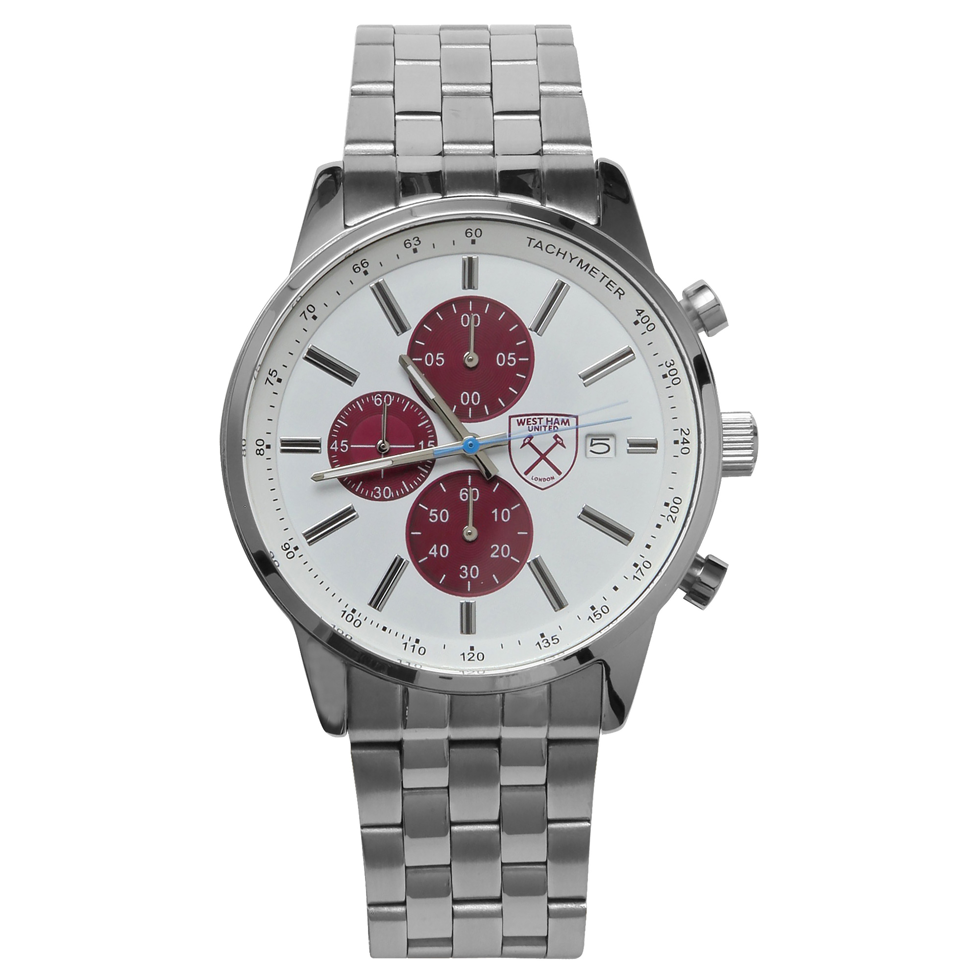 LIMITED EDITION SILVER BRACELET WATCH