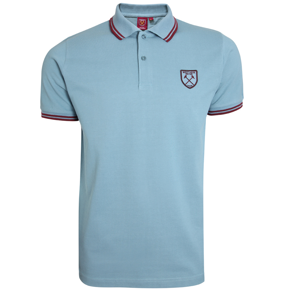 VINTAGE SKY TIPPED POLO