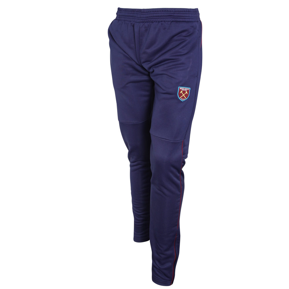 ESSENTIALS - NAVY POLY PANTS