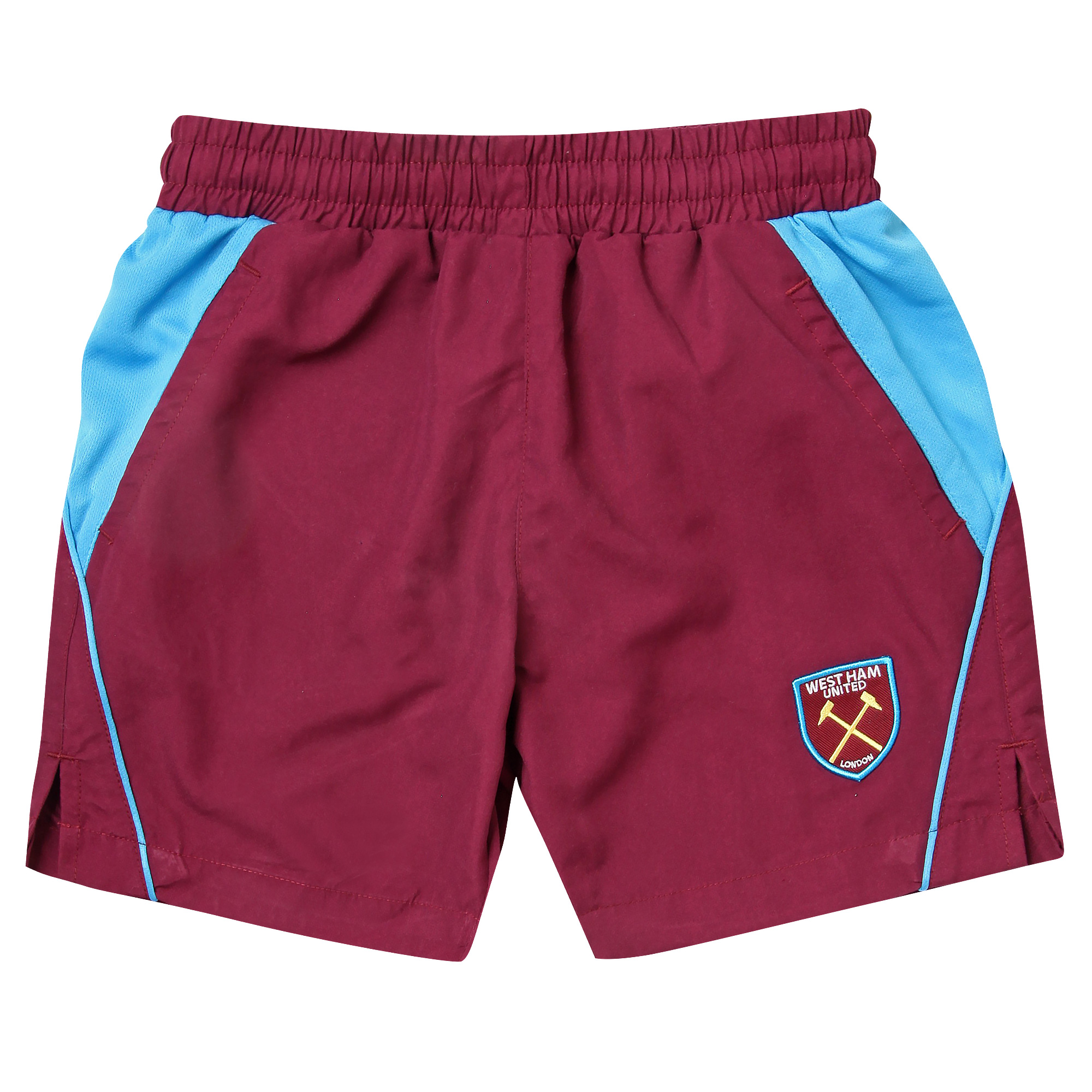 ESSENTIALS - JUNIOR CLARET WOVEN SHORTS