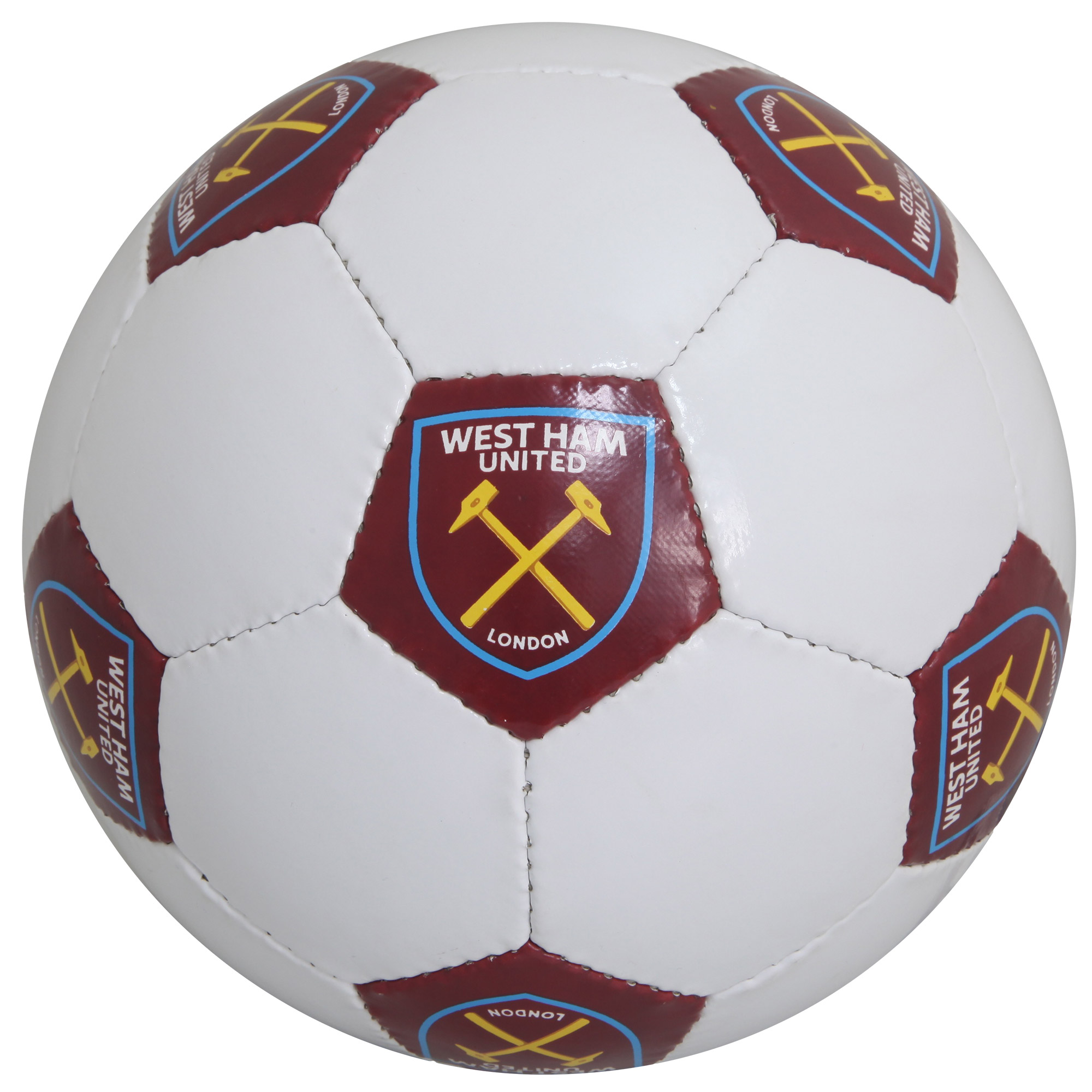 WHITE CREST SIZE 5 FOOTBALL