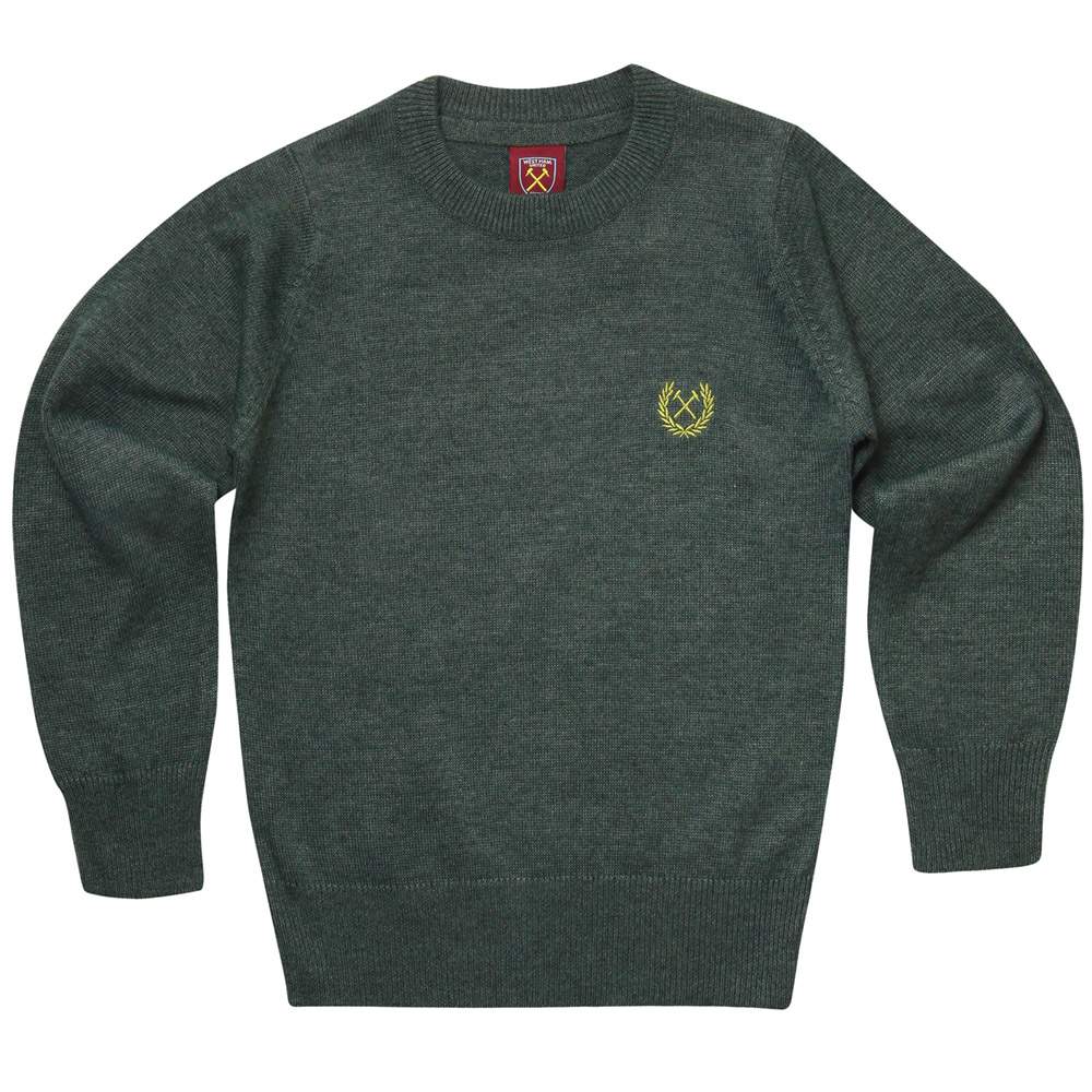 2430 - JUNIOR FOREST MARL JUMPER