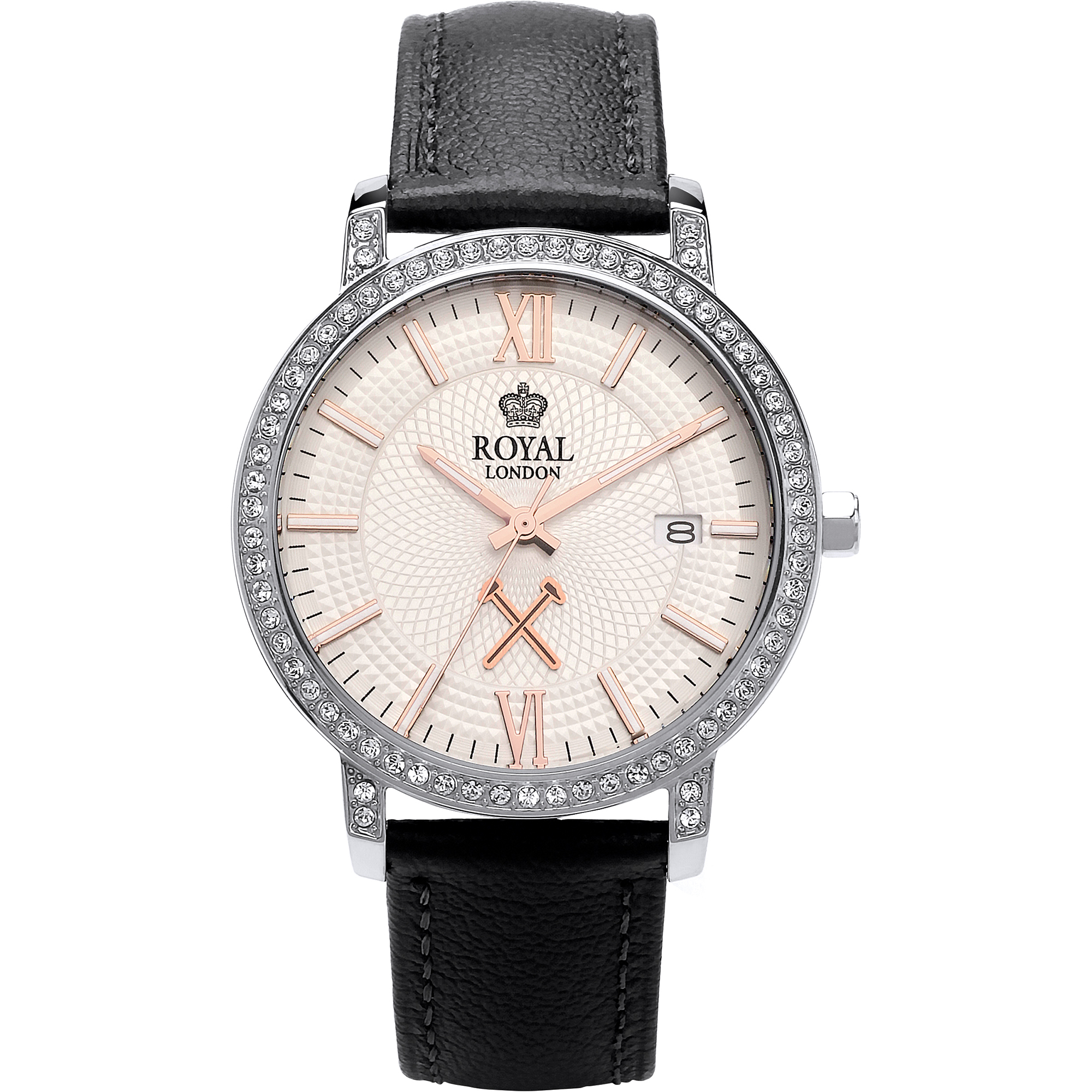 ROYAL LONDON LADIES 11 LEATHER STRAP WATCH
