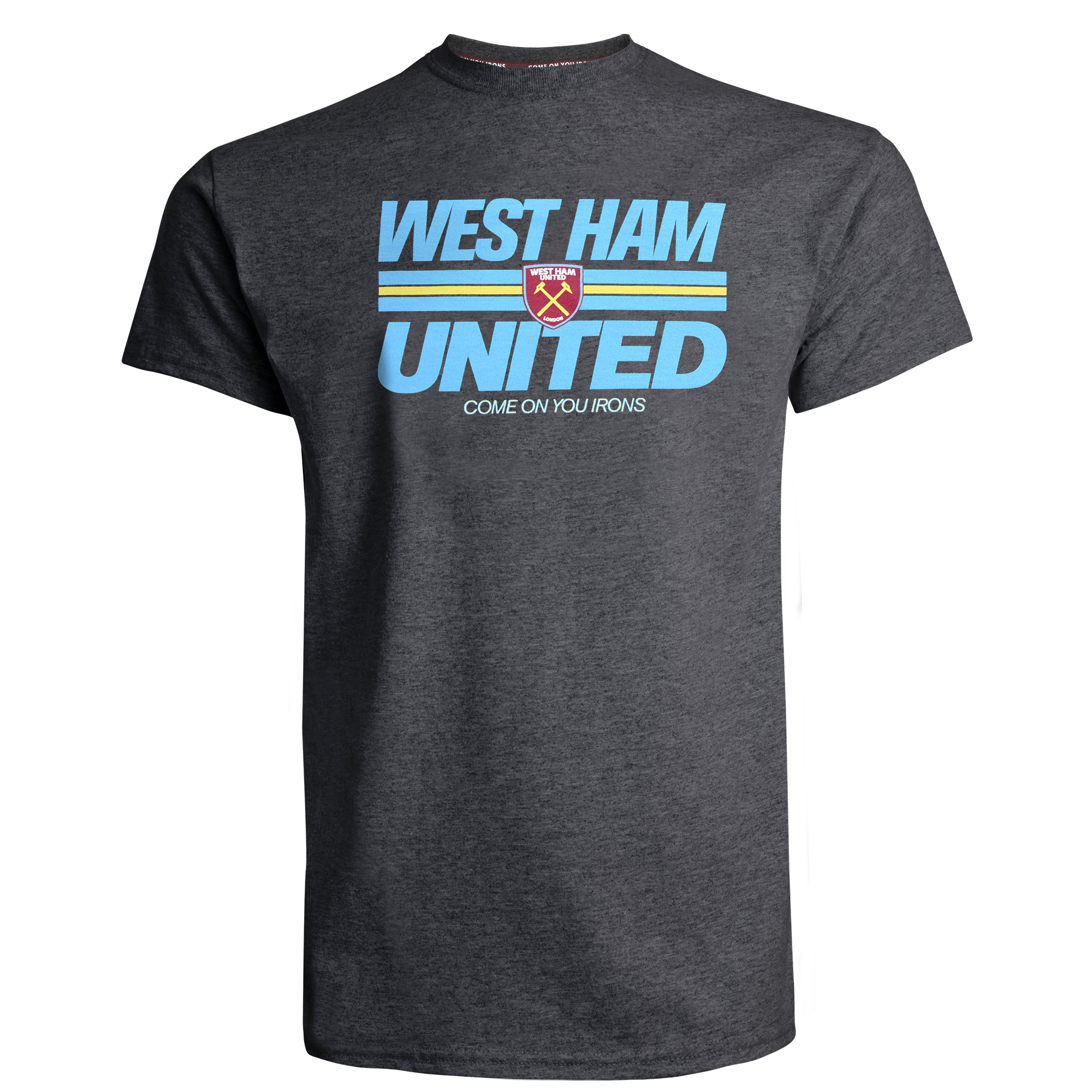 2420 - CHARCOAL WEST HAM UNITED T-SHIRT