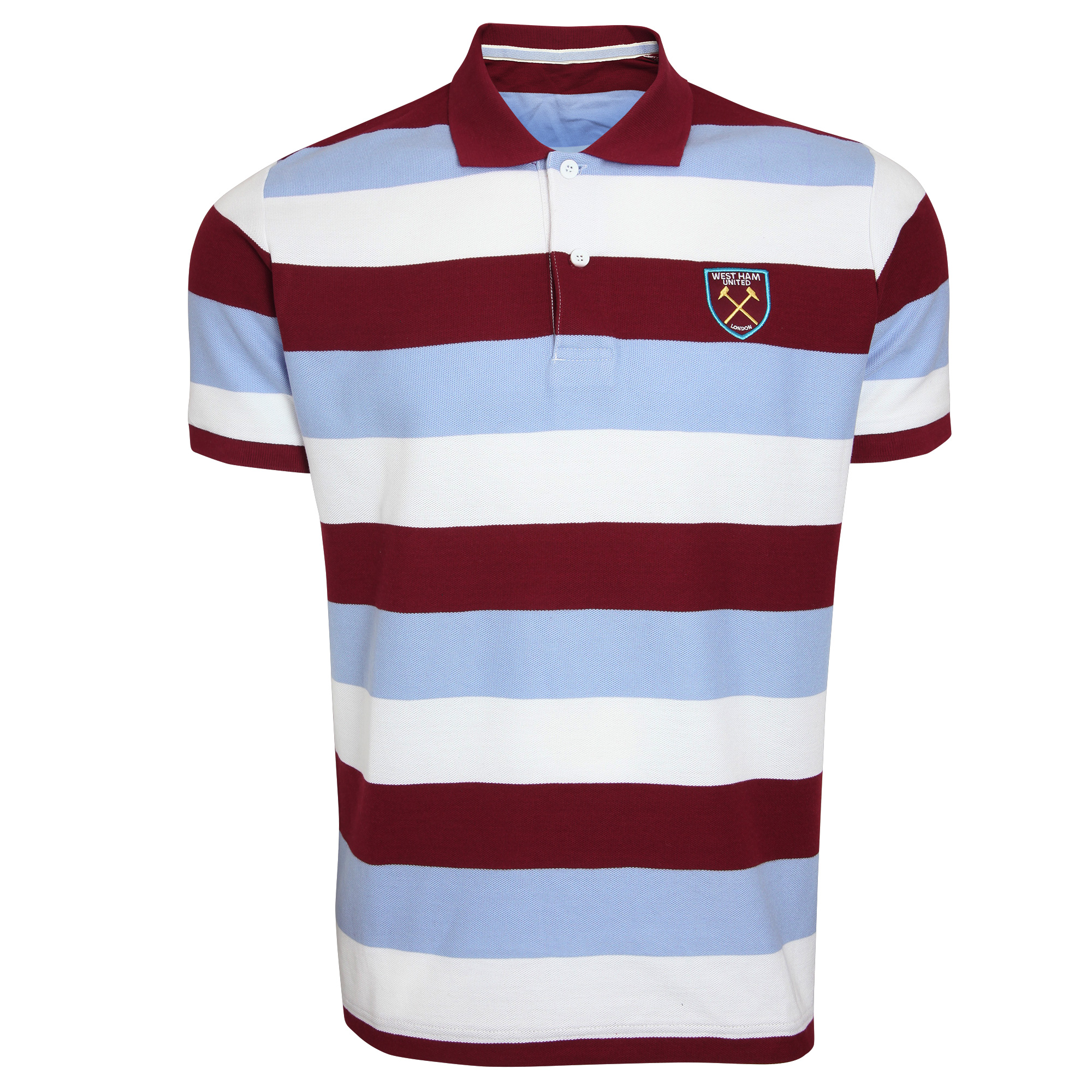 BLOCK STRIPED POLO