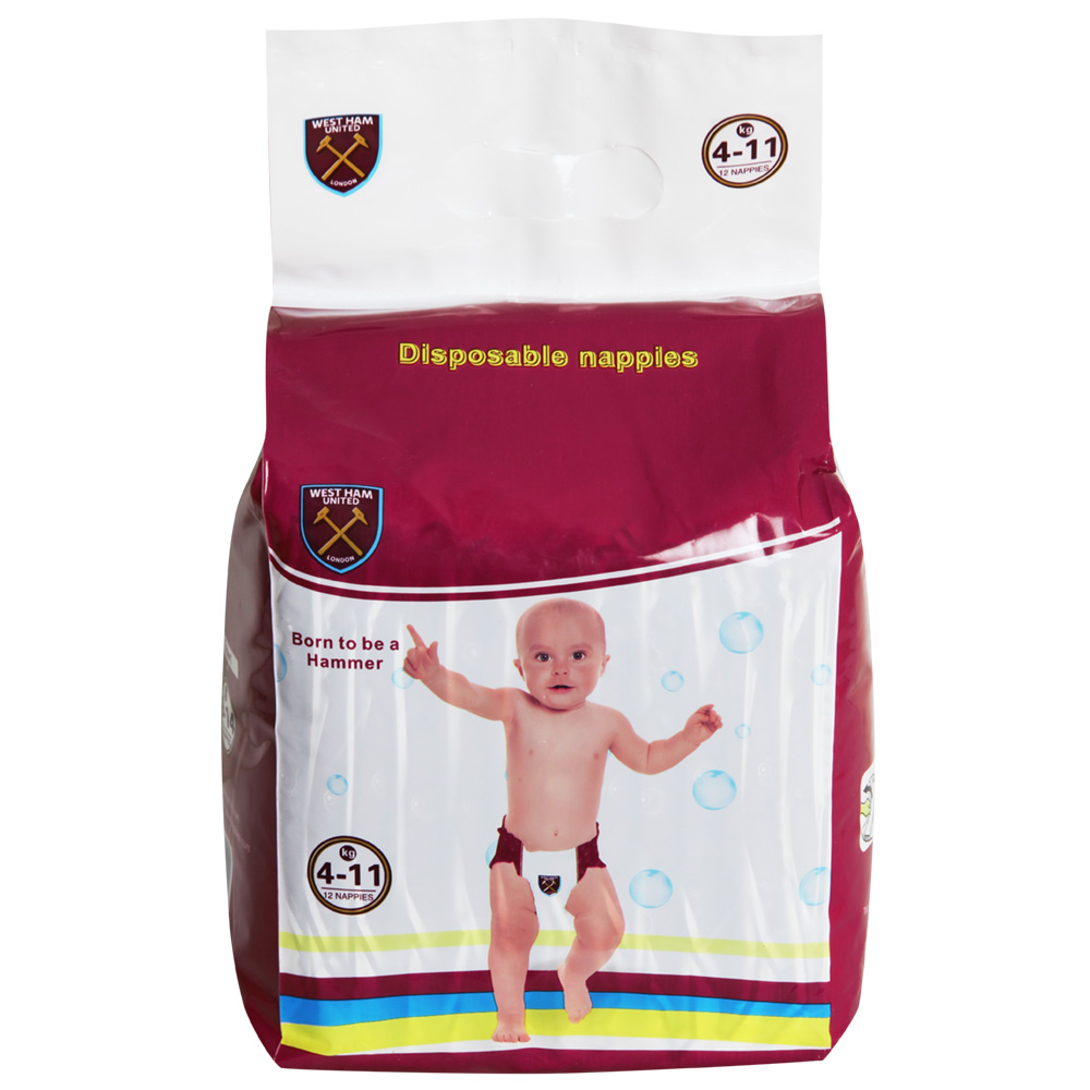 12 PACK NAPPIES