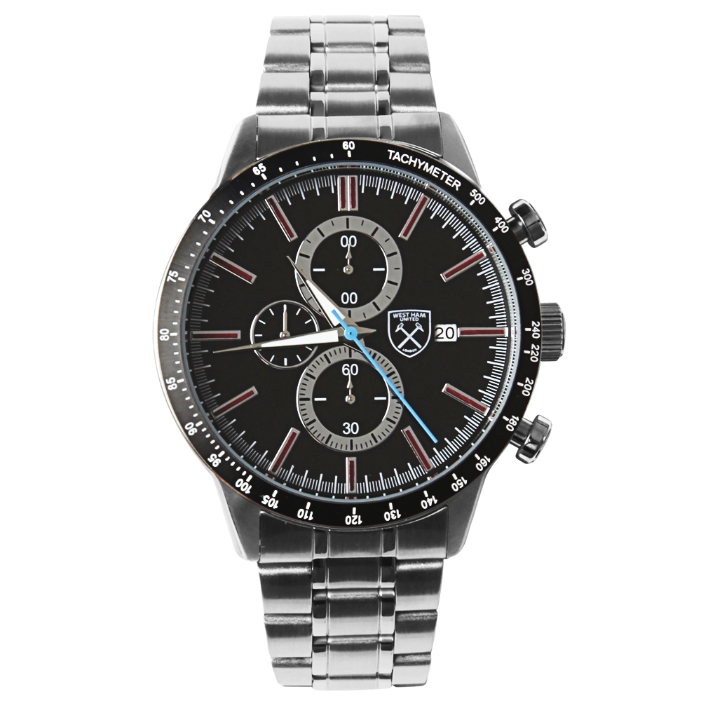 LIMITED EDITION BLACK CHRONOGRAPH WATCH
