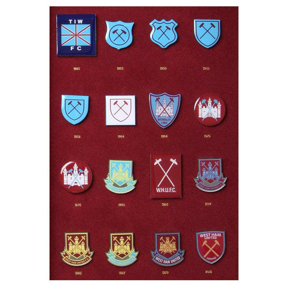 CREST HISTORY BADGE SET