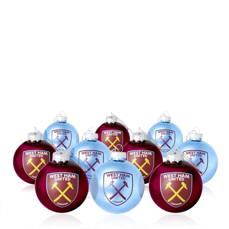 10 PACK MINI BAUBLES