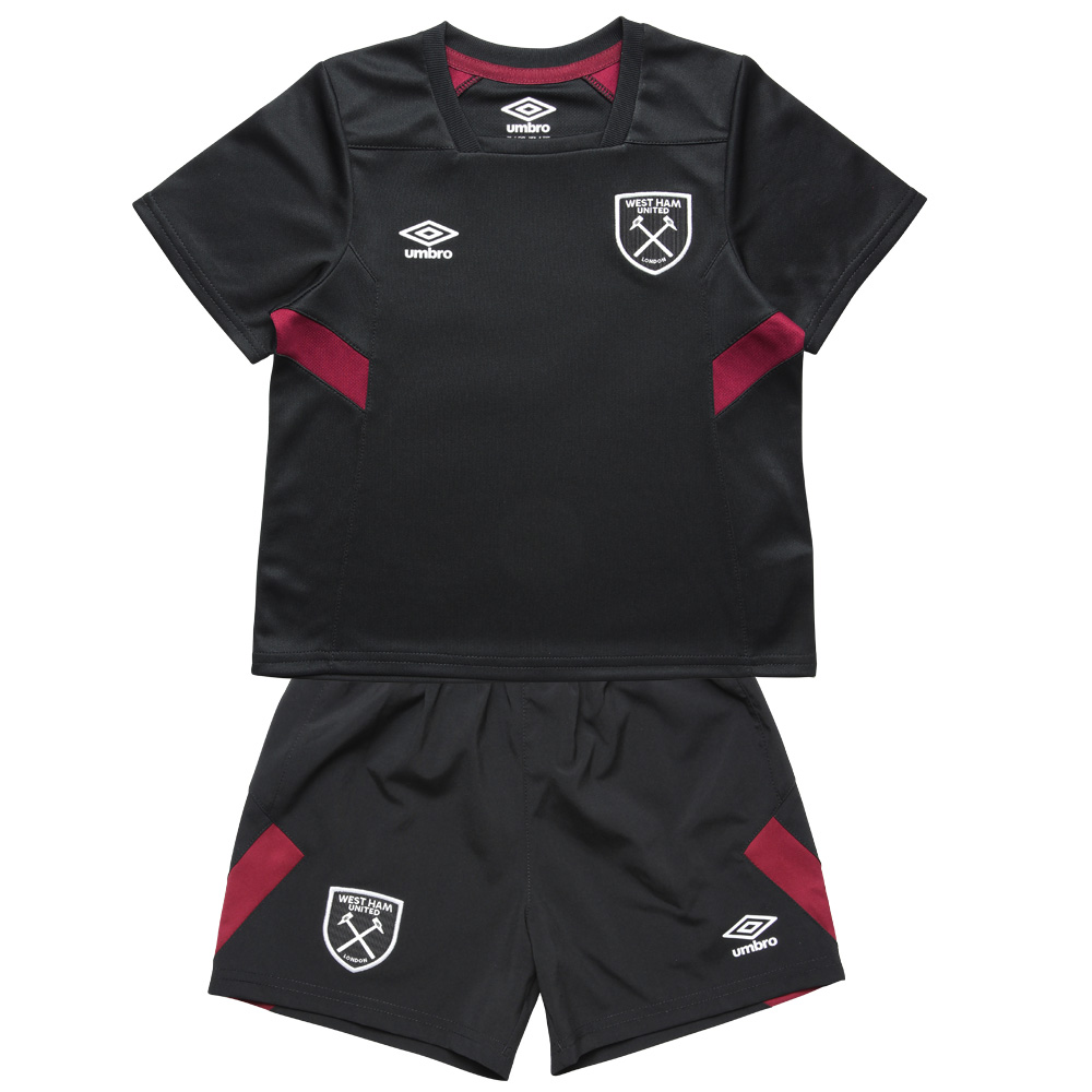 2017/18 TRAINING INFANT KIT BLACK