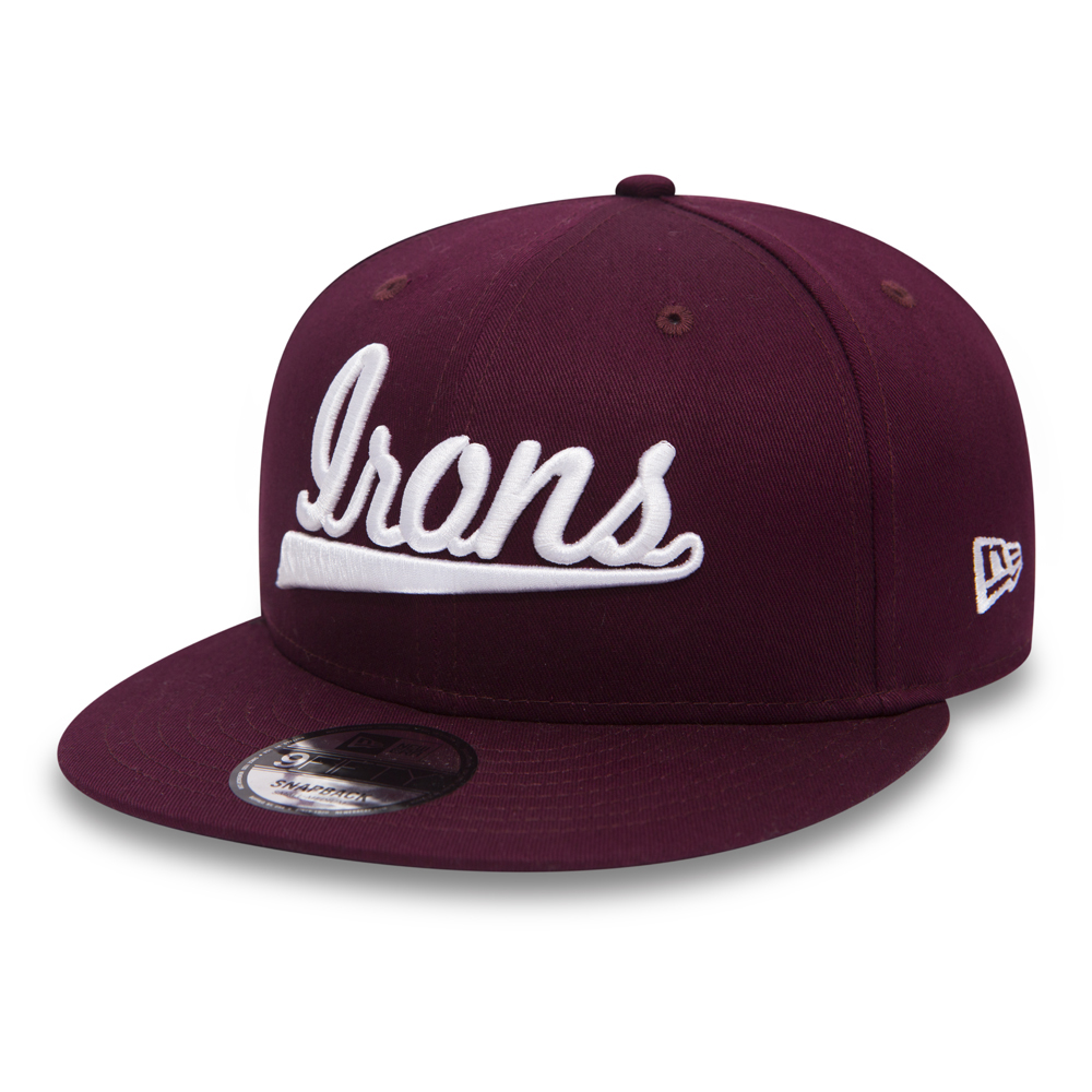 IRONS 9FIFTY SNAPBACK CAP