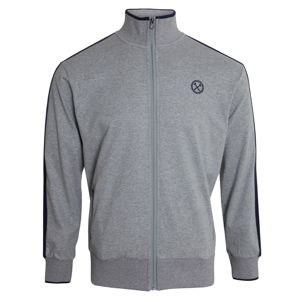 GREY RUBBER CIRCLE JACKET