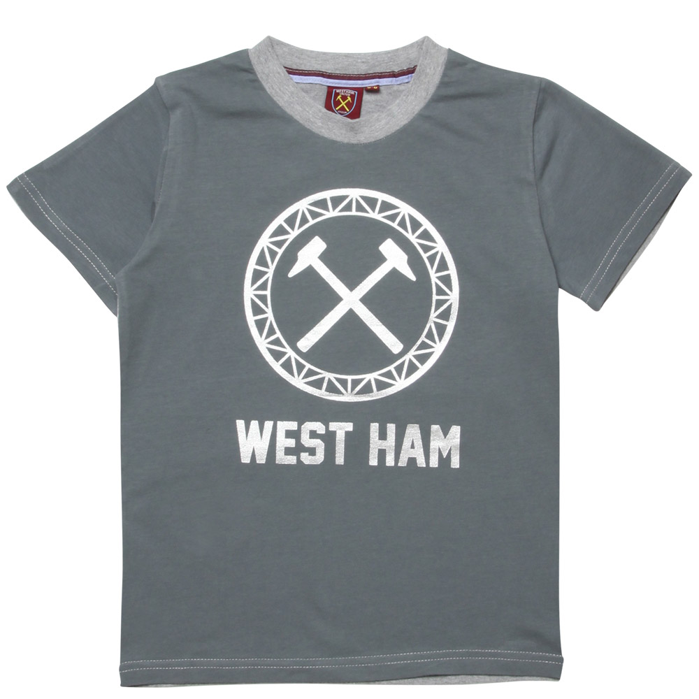 JUNIOR ALL OVER WHU T-SHIRT