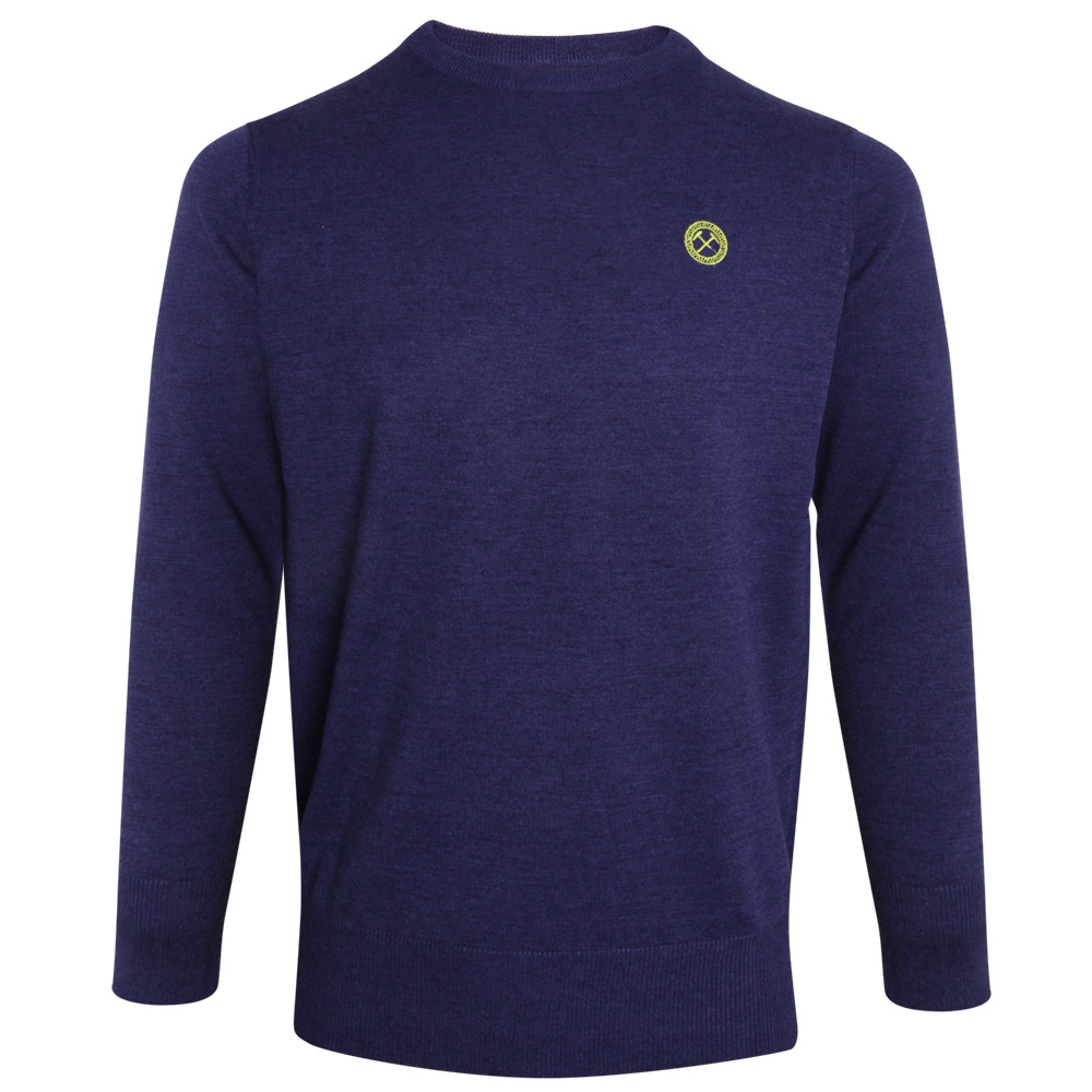 2440 - NAVY MARL JUMPER