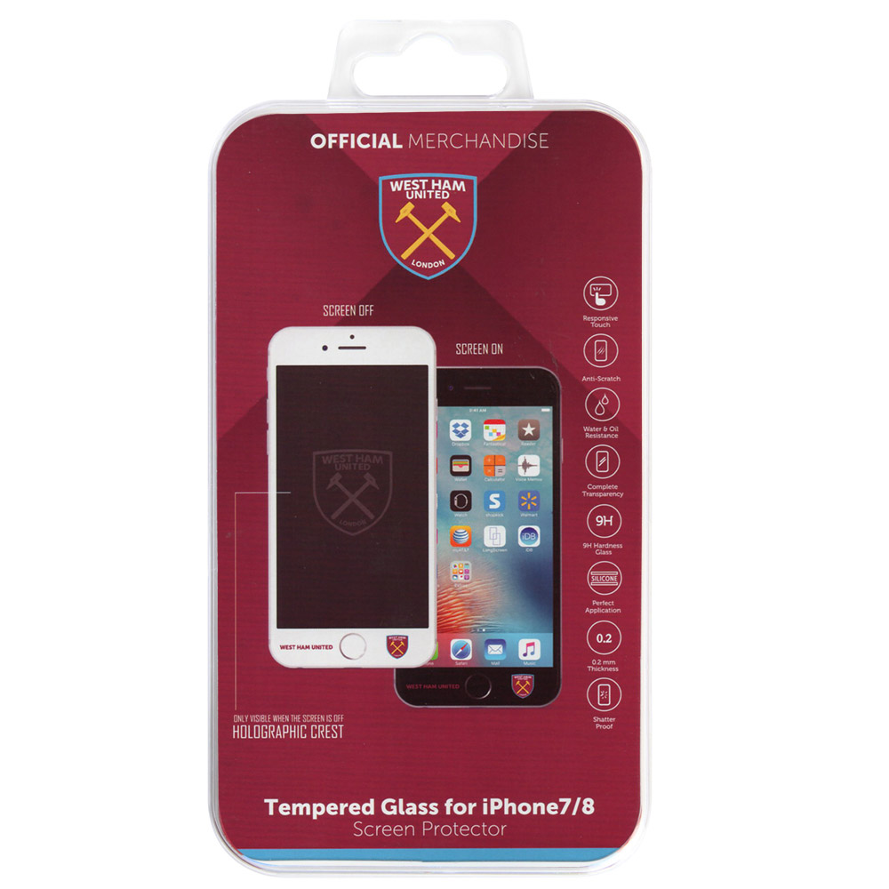 WEST HAM TEMPERDED GLASS