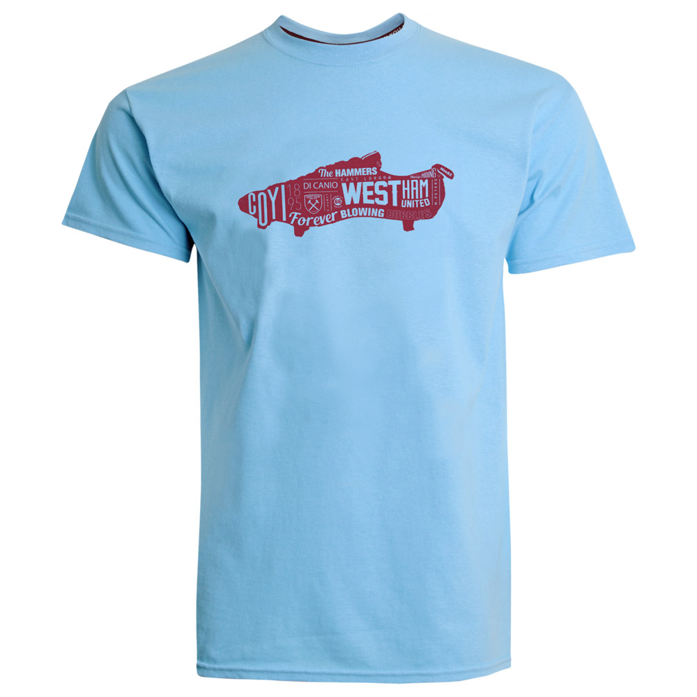 2420 - SKY WEST BOOT T-SHIRT